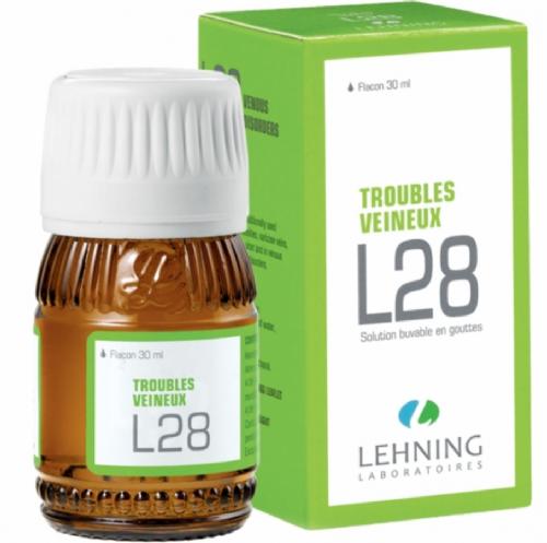 Lehning L28 Trastornos circulatorios Gotas (60 ml)