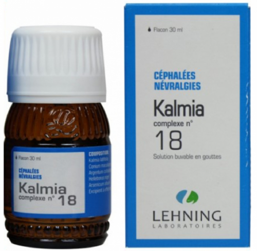 Lehning Kalmia nº 18 Gotas (30 ml)