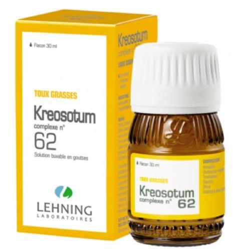Lehning Kreosotum nº 62 Gotas (30 ml)