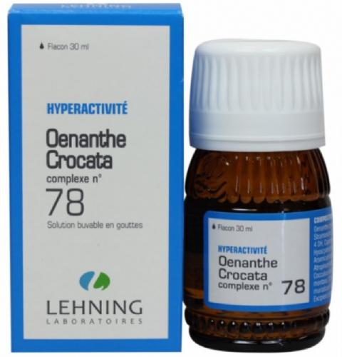 Lehning Oenanthe Croata nº 78 Gotas (30 ml)