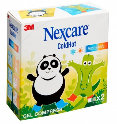 3M Nexcare ColdHot Frío / Calor Happy Kids (2 bolsas)