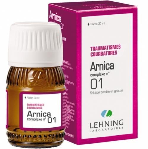 Lehning Árnica Gotas nº1 (30 ml)