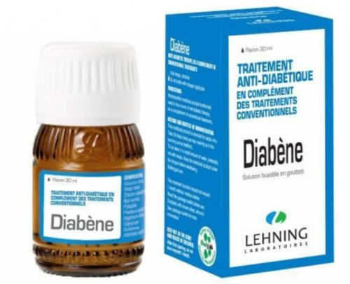 Lehning Diabène Gotas (30 ml)
