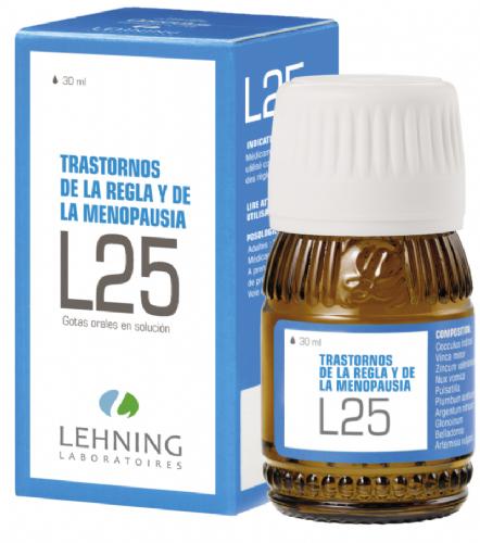 Lehning L25 Trastornos Regla y Menopausia Gotas (30 ml)