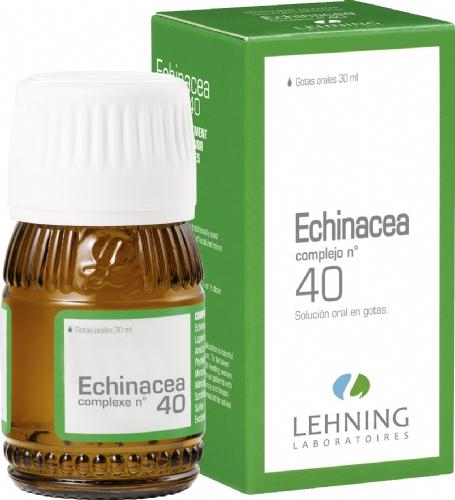 Lehning Echinacea nº 40 Gotas (30 ml)