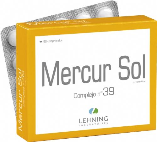 Lehning Mercur Sol Complejo nº 39 (80 comprimidos)