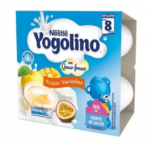 Nestlé Yogolino Frutas y Queso Fresco +8 m (4 ud x 100 g)
