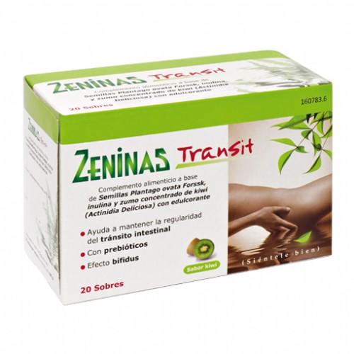 Zeninas transit 20 sobres.