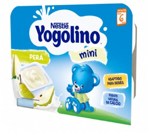 Nestlé Yogolino Mini Pera +6 m (6 ud x 60 g)
