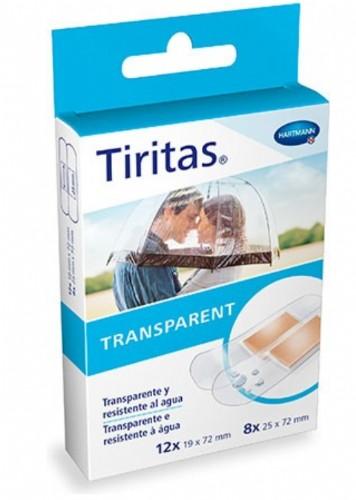 Hartmann Tiritas Transparent Individuales (20 ud) 2 tamaños