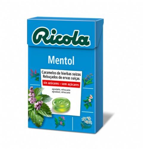 Ricola Caramelos Mentol sin azúcar (65 g)