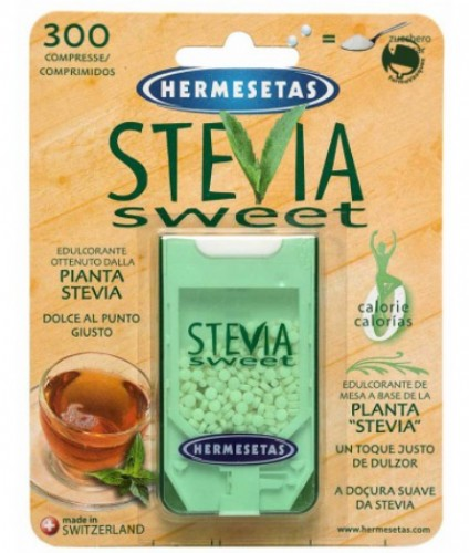 Hermesetas Stevia Sweet (300 comprimidos)
