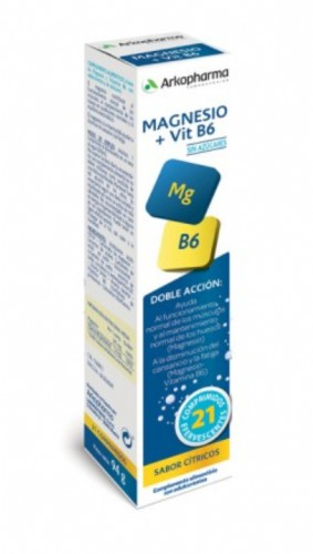 Arkovital Magnesio 375 mg + B6 (21 comprimidos)