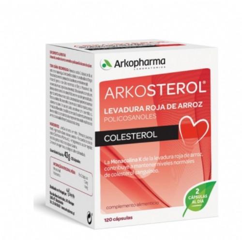 Arkosterol Levadura Roja de Arroz (120 cápsulas)