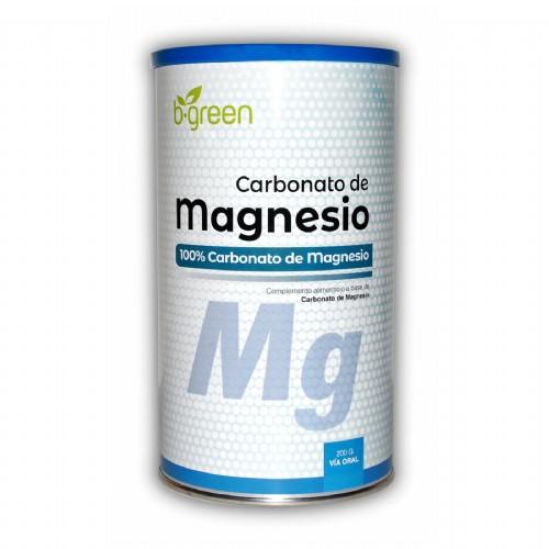 B-Green Carbonato de magnesio Lata (200 gramos)