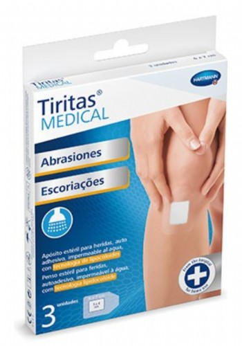 Hartmann Tiritas Medical Abrasiones  10 x 10 cm (3 ud)
