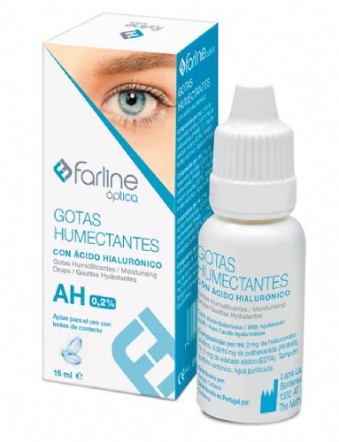 Farline Óptica Gotas Humectantes 0,2 Acido Hialurónico (15 ml)