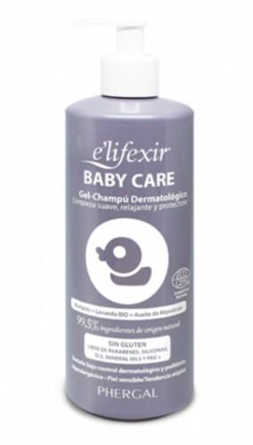 E´lifexir Dermo Baby Care Gel-Champú Dermatológico (500 ml)