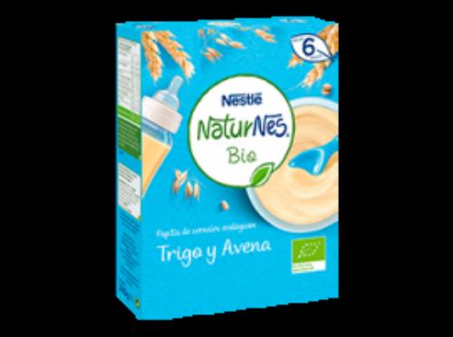 Nestlé Naturnes Papilla Bio Trigo y Avena (240 g)