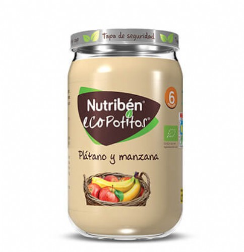 Nutribén Ecopotito Plátano y manzana +6m (235 g)