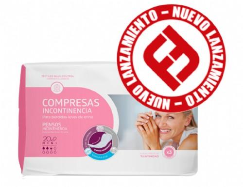 Aposán Compresas para la incontinencia Mini (20 ud)
