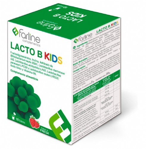 Farline Lacto B Kids Probiótico (10 sobres)