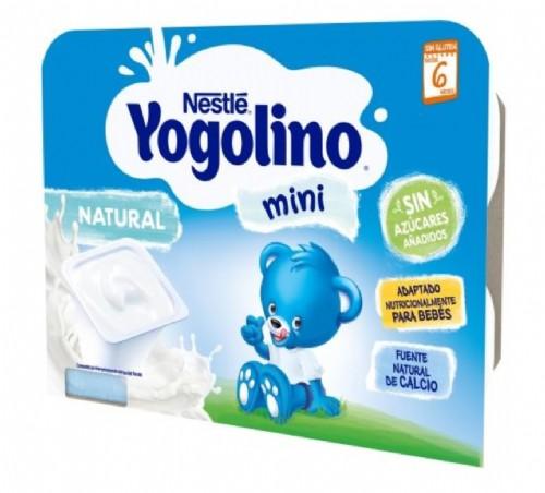 Nestlé Yogolino Mini Natural +6 m (6 ud x 60 g)