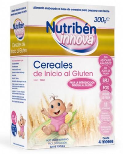 Nutribén Innova Cereales Inicio al gluten +4m (300 g)