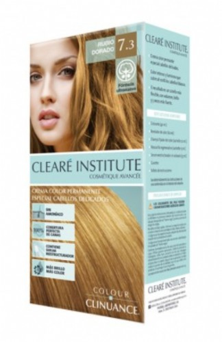 Clearé Colour Clinuance Crema Color Permanente 7.3 Rubio Dorado