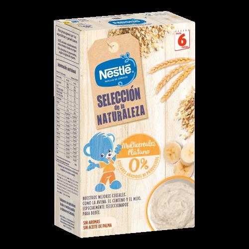 Nestlé Selección de la Naturaleza Multicereales Plátano (330 g)