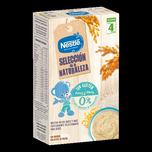 Nestlé Selección de la Naturaleza Arroz y Maíz Sin Gluten (330 g)