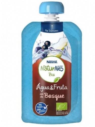 Nestlé NaturNes Bio Agua & Fruta del Bosque (120 ml)