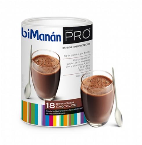 BiManán PRO Eco Chocolate (540 g - 18 raciones de 30 g)