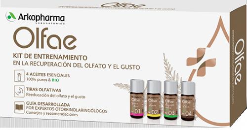 Arkopharma Olfae Kit de Entrenamiento para Recuperación olfato y gusto (1 ud)