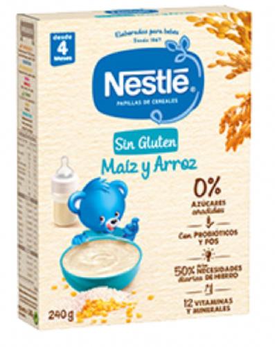 Nestlé Papilla Cereales sin gluten con Bifidus +4 m (600 g)