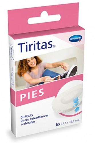 Hartmann Tiritas Pies Durezas (6 ud)