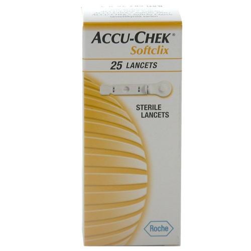 Accu-Chek Softclix Lancetas (25 ud)