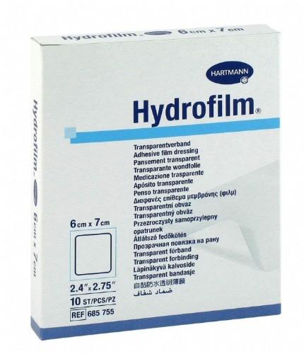 Hartmann Hydrofilm 6 x 7 cm (10 ud)