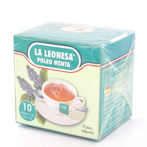 La Leonesa Poleo Menta (10 bolsas)