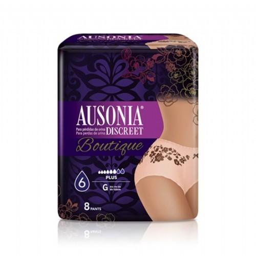 Ausonia Discreet Pants Plus Boutique talla G (8 uds)