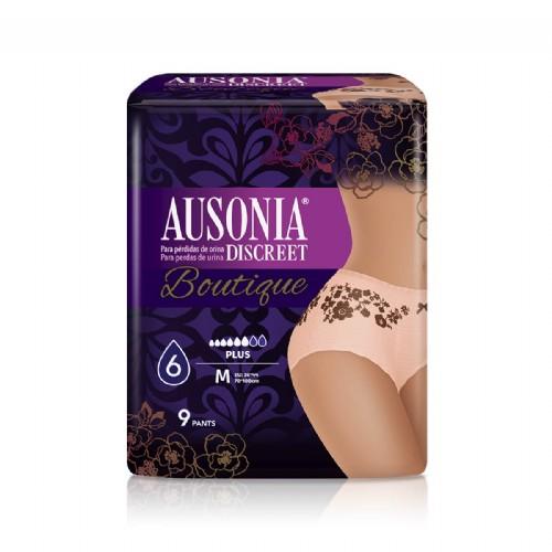 Ausonia Discreet Pants Plus Boutique talla M (9 uds)
