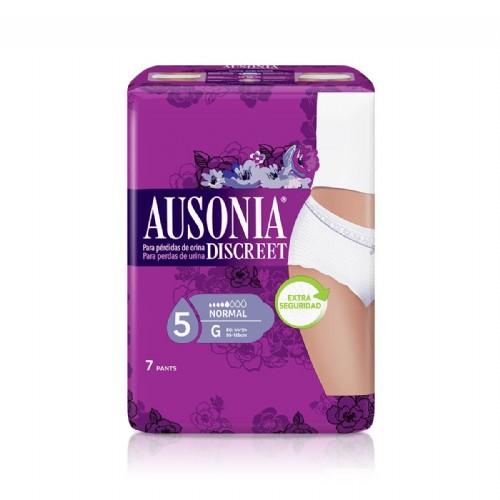 Ausonia Discreet Pants Normal talla G (7 uds)
