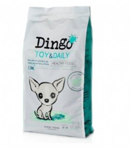 Dingo Toy & Daily Pienso para perros de razas pequeñas y minis (500 g)