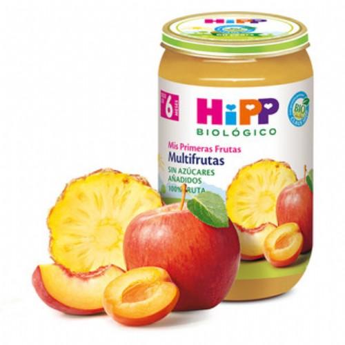 HiPP Tarrito Frutas Bio: Multifrutas +6m (250 g)