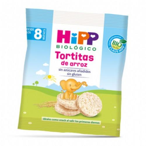 HiPP Tortitas de Arroz +8m (30 g)