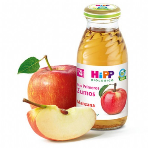 HiPP Zumo Manzana +4m (200 ml)
