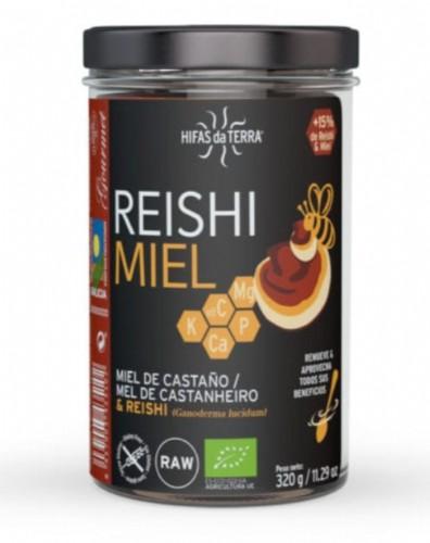 Hifas da Terra Reishi-Miel de Castaño (320 g)