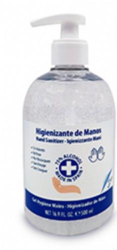 Gel Hidroalcohólico Higienizante de Manos Air-Val (500 ml)