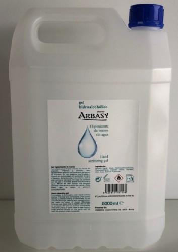 Gel Hidroalcohólico Arbasy (5.000 ml)