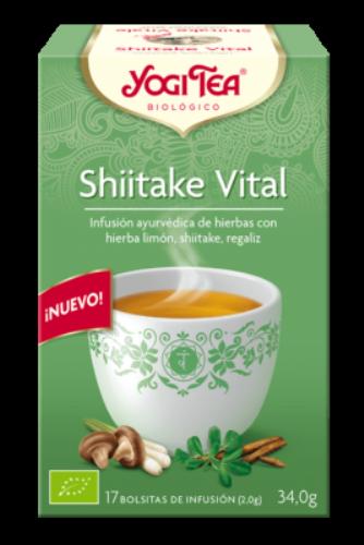 YogiTea Shiitake Vital (17 bolsitas)